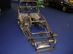 Project 2B - Robin Hood Sports Cars. Robin Hood Chassis at Detling