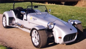 Cat E1 - Tiger Sportscars. Lovely Silver Tiger Cat E1