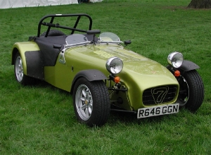 Super 7 - Caterham cars. Caterham 7 at Stoneleigh