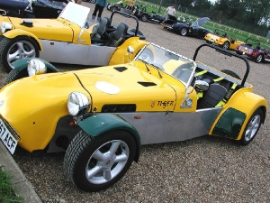 Cat E1 - Tiger Sportscars. Tiger Cat E1 at Brands