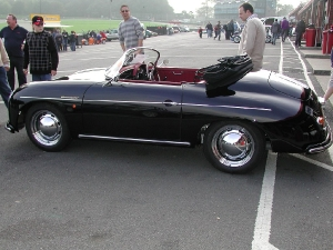 Speedster - Pilgrim Cars. Side profile