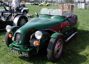 Lomax 223 - Cradley Motor Works. British racing green 223