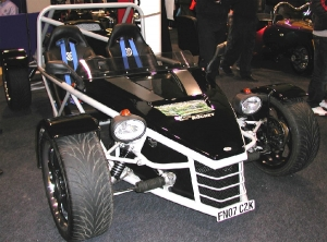 Rocket - Mills Extreme Vehicles Ltd. On display at Exeter 2007