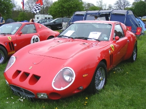 250GTO - Roy Kelly. Roy Kelly 250 GTO
