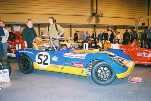 Fury - Fisher sportscars. Fury at Autosport show