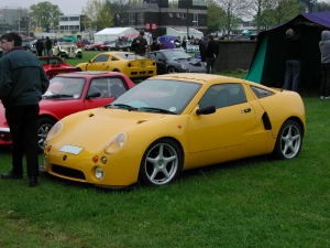 Libra - GTM Cars Ltd. Yellow Libra at Stoneleigh