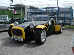 Super 6 - Tiger Sportscars. Tiger at Brooklands Kit Show