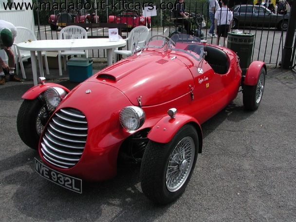 Fiorano - Type 48 Corsa Spyder. Spyder Corsa at Brooklands