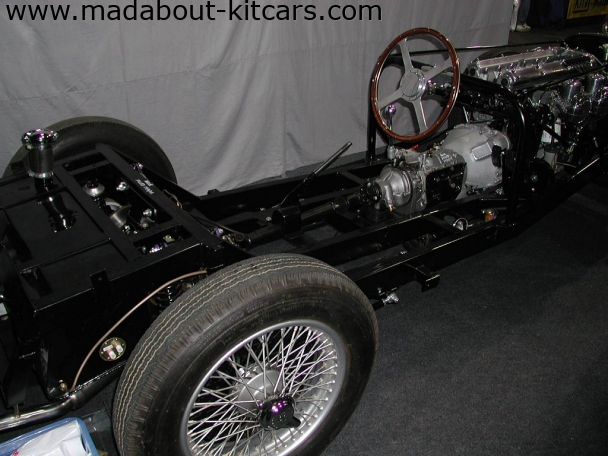 Suffolk Sportscars - SS100. SS100 Chassis and engine