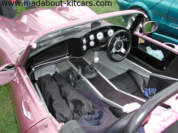 Fisher sportscars - Fury. Fury interior