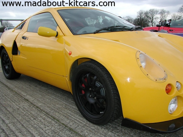 GTM Cars Ltd - Libra. Yellow GTM Libra at Detling