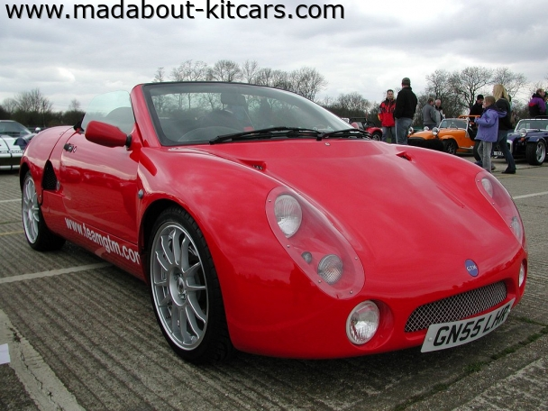 GTM Cars Ltd - GTM Spyder. Red GTM Spyder