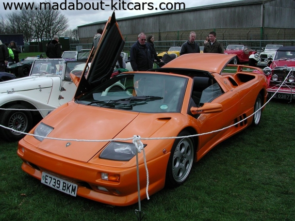 DC Supercars Ltd - DC Roadster. Understandably ring fenced