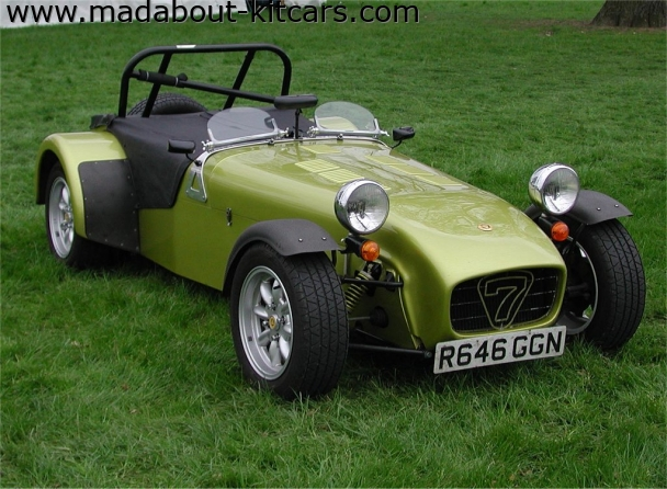 Caterham cars - Super 7. Caterham 7 at Stoneleigh