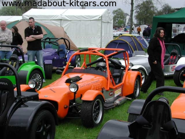 MK Sportscars - MK Indy. Full roll cage on this MK Indy