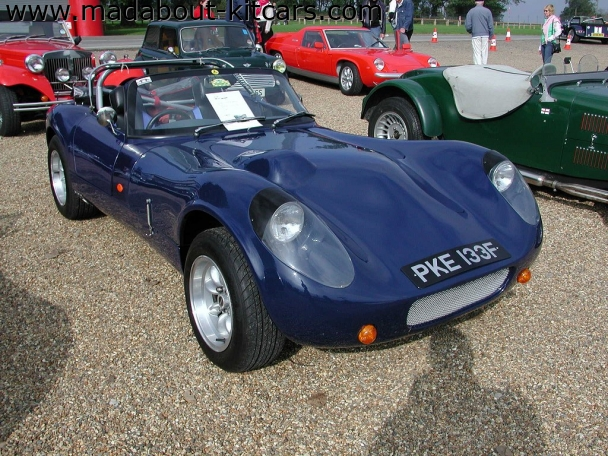 Fisher sportscars - Fury. Blue Fury at Brands Hatch