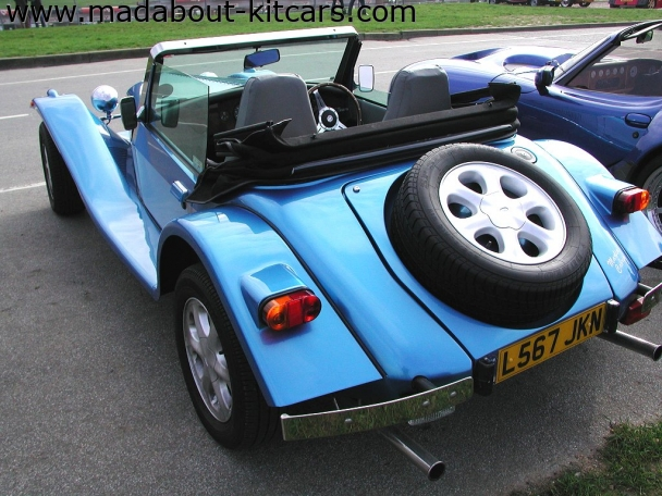 Javelin Sports Cars - Cabrio. Parked up at Brands Hatch