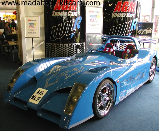 AGM Sportscars - WLR. Demo car at Detling 2006
