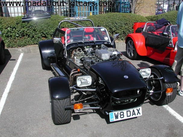 DJ sportscars - Rush. One of a number of V8 Rushes