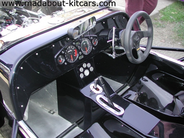 DJ sportscars - Rush. Demo Rush interior
