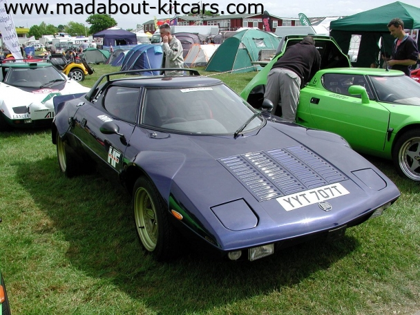 Hawk cars Ltd - HF series. Understated Stratos