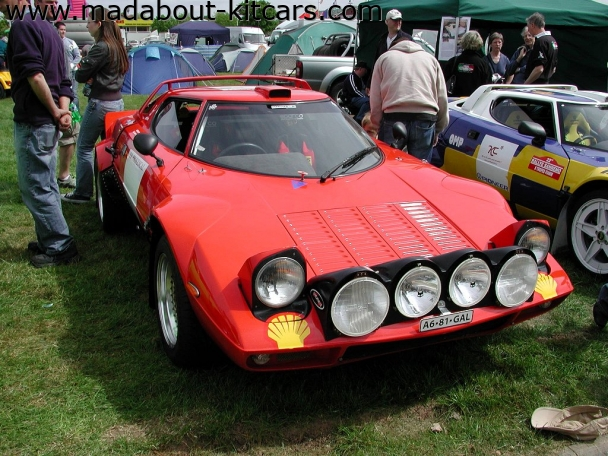 Hawk cars Ltd - HF series. Stratos replica at Stoneleigh