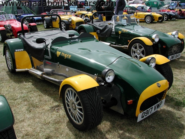 Tiger Sportscars - Cat E1. Green yellow combo goes well