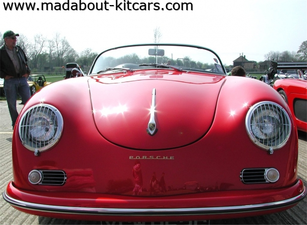 Chesil Motor Company - Speedster. speedster front detail