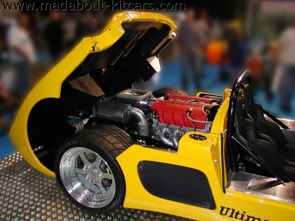 Ultima Sports Ltd - Can-Am. Can-Am demo car 2007