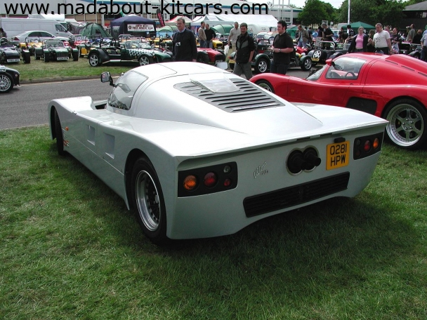 Ultima Sports Ltd - GTR. Much squarer lines