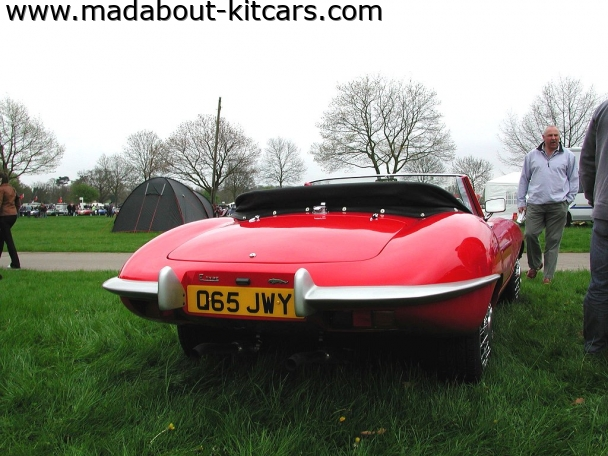 JPR Cars Ltd - Wildcat. Wildcat rear end