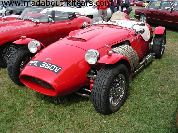 Ronart Cars - Ronart W152. At Stoneleigh kit car show 07