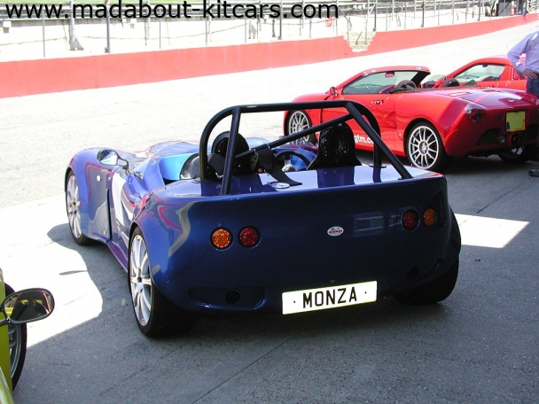 Image Sports Cars Ltd - Monza. Rear of Monza