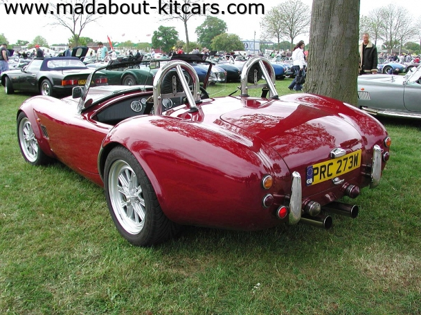 Gardner Douglas Sports Cars - GD427. Twin hooped roll bar