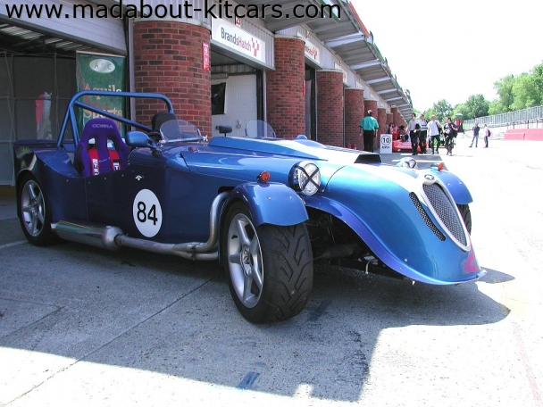 Aquila Sports Cars - Raider. ASC Raider at Brands Hatch