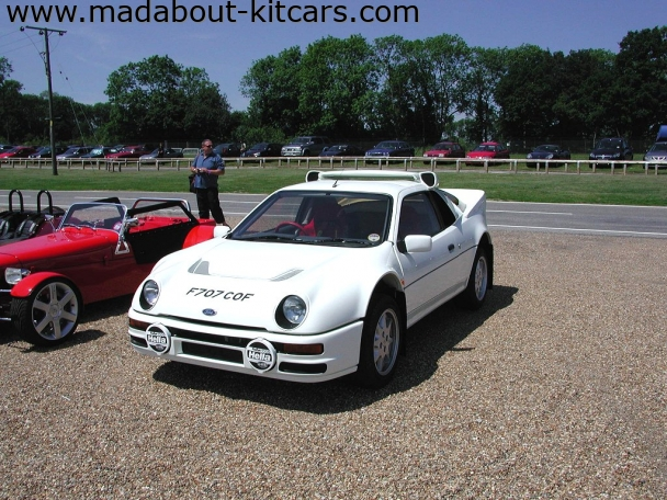 Paul Banham Conversions - RS200. RS200 MG conversion