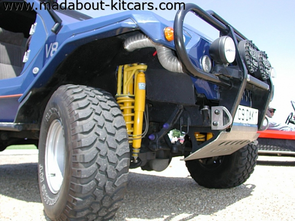 Dakar design and conversions - Dakar 4x4. Tough suspension