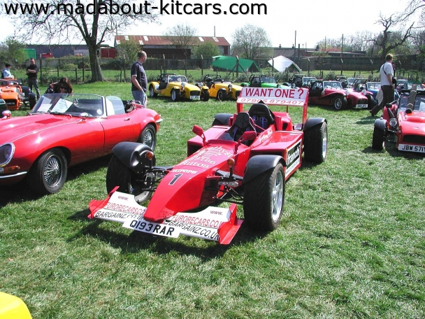 Furore Cars - Formula F1. F1 at Detling kit car show 07