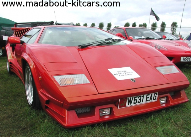 DC Supercars Ltd - DC Konig. DC Konig Countach replica