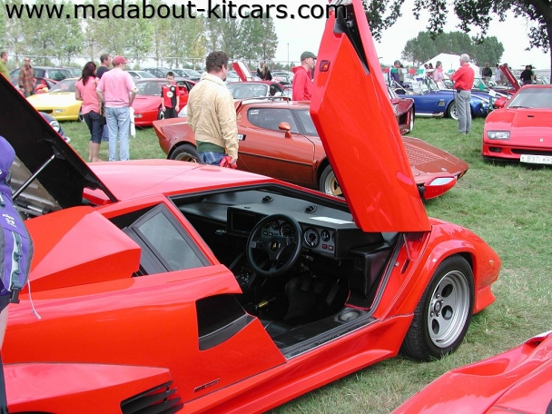 DC Supercars Ltd - DC Konig. Door up on this Countach
