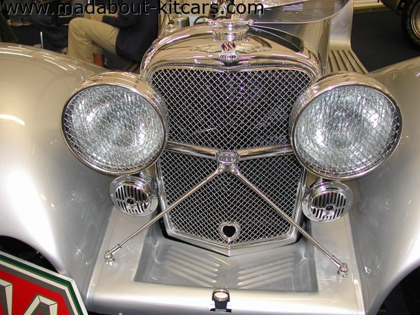 Suffolk Sportscars - SS100. Grille detailing superb