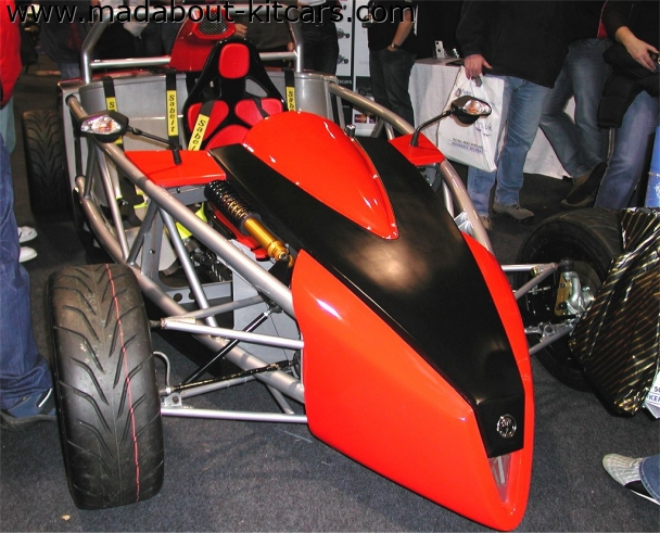 SDR Sportscars - V Storm. VStorm demo car at Exeter 07