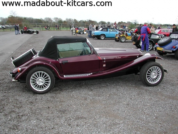 Javelin Sports Cars - Cabrio. Vintage lines of Marlin Cabrio