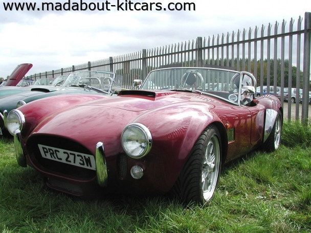 Gardner Douglas Sports Cars - GD427. Closer shot of GD427
