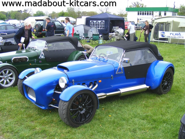 DJ sportscars - Rush. Lovely blue Dax Rush