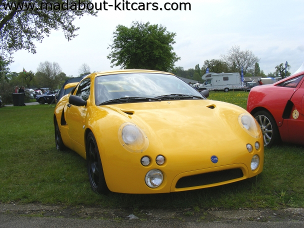 GTM Cars Ltd - Libra. Front view of GTM Libra