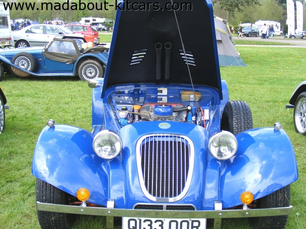 Merlin Sports Cars - Merlin TF. Rover V8 on show