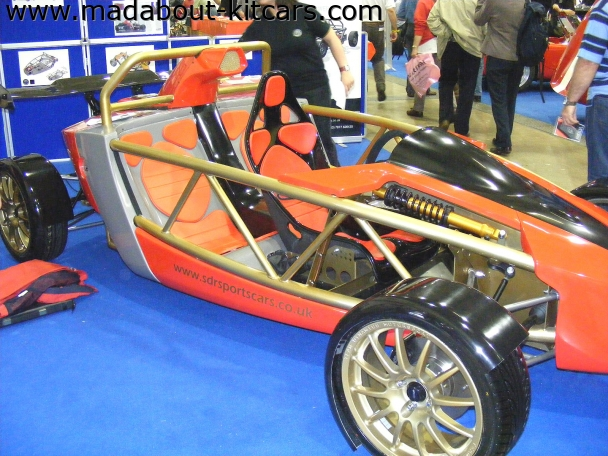 SDR Sportscars - V Storm. At Stoneleigh 2008 kitcar show