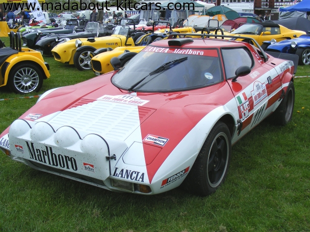 Hawk cars Ltd - HF series. Lancia Stratos replica