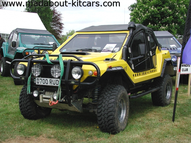 Dakar design and conversions - Dakar 4x4. Ready to rescue someone